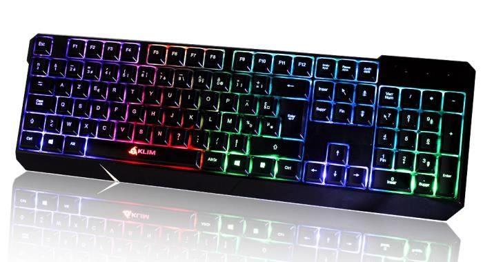 Quel est le meilleur clavier de gamer visuel 3