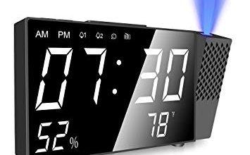 Quel radio réveil projecteur est le meilleur visuel 3