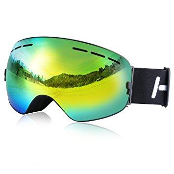 Quelles sont les meilleures lunettes de snowboard visuel 3